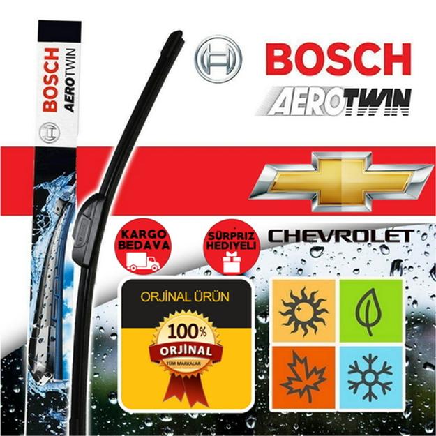 Chevrolet Aveo Sedan Silecek 2011-2013 Bosch Aerotwin Plus Set resmi