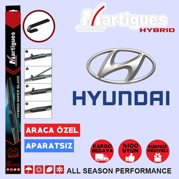 Hyundai Accent Blue Hybrid Silecek Takımı 2011-2015 resmi