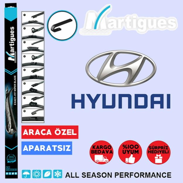 Hyundai Accent Blue Muz Silecek Takımı 2011-2015 resmi