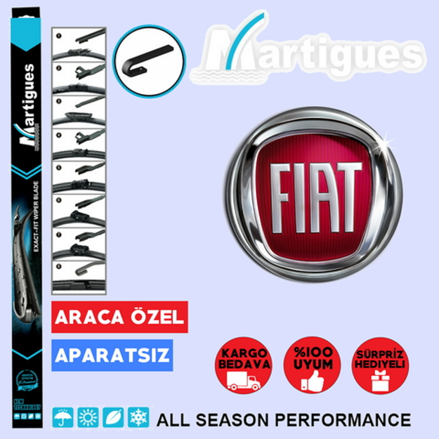 Fiat Palio Muz Silecek Takımı 1998-2012 resmi