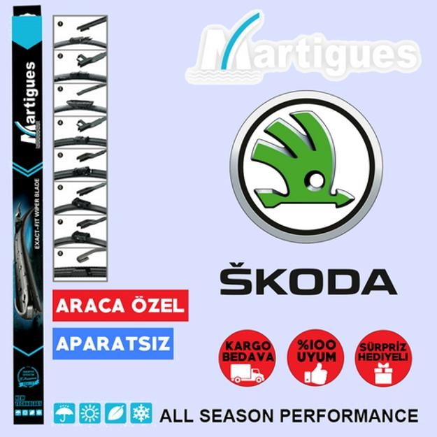 Skoda Yeti Muz Silecek Takımı 2009-2016 resmi