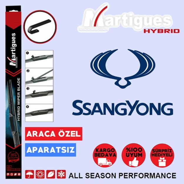 Ssangyong Korando Sport Hybrid Silecek Takımı 2011-2016 resmi