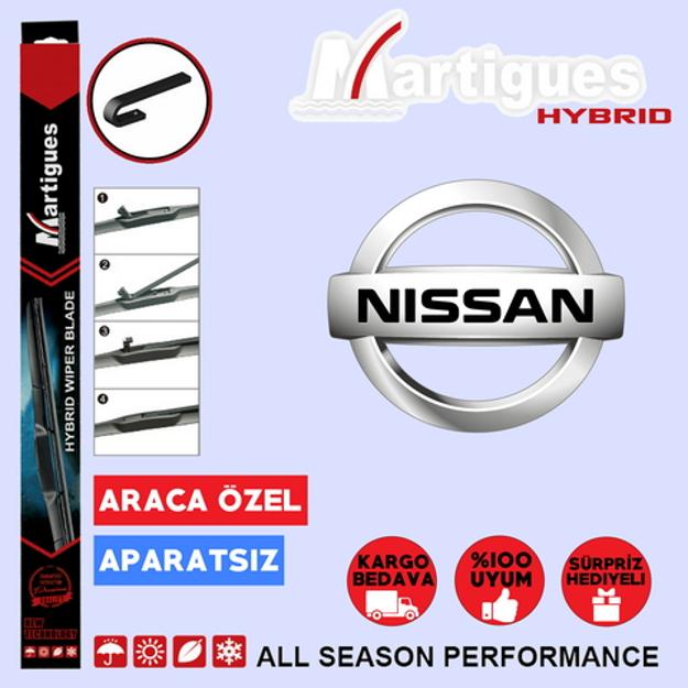 Nissan Micra Hybrid Silecek Takımı 2005-2010 resmi