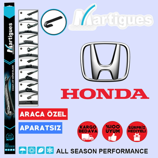 Honda Civic Fc5 Muz Silecek Takımı 2017-2019 resmi