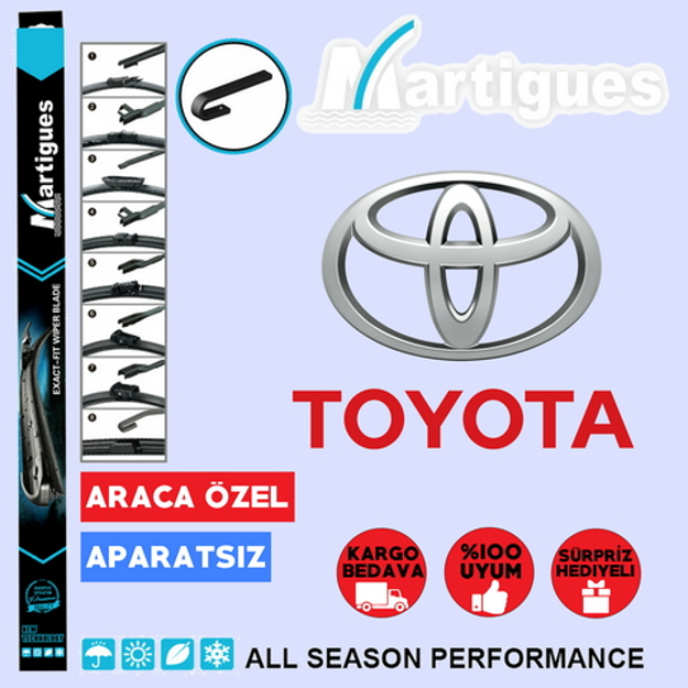 Toyota Yaris Muz Silecek Takımı 1999-2005 resmi