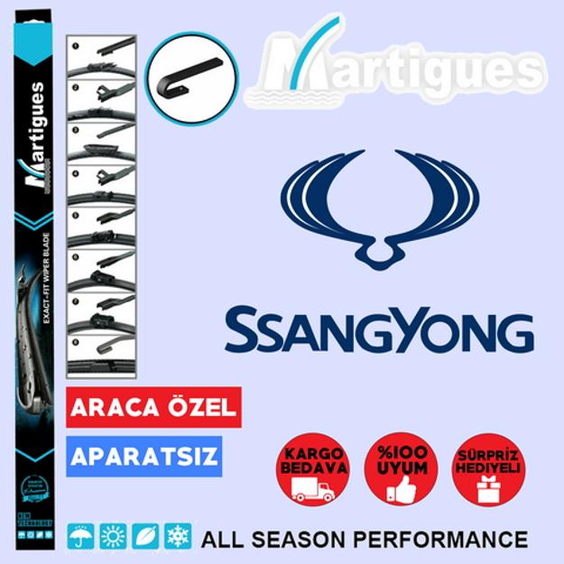 Ssangyong Rexton Muz Silecek Takımı 2007-2016 resmi
