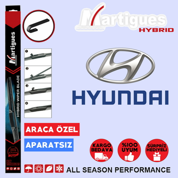 Hyundai Santa Fe Hybrid Silecek Takımı 2000-2005 resmi