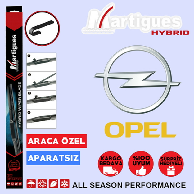 Opel İnsignia Hybrid Silecek Takımı 2008-2016 resmi