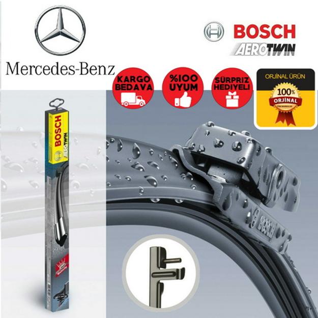Mercedes C Silecek Seti 2008-2011 W204 Bosch Aerotwin Plus Set resmi