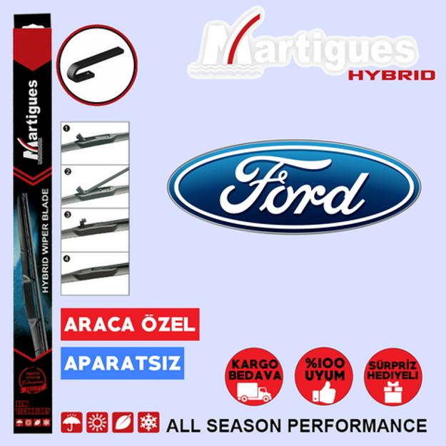 Ford Fiesta Hybrid Silecek Takımı 2002-2008 resmi
