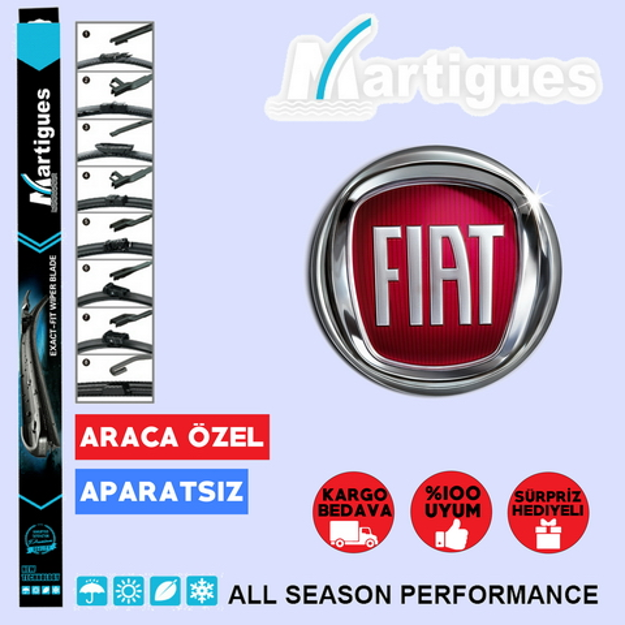 Fiat Punto Muz Silecek Takımı 2007-2017 resmi