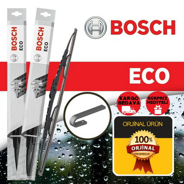 Renault Symbol Silecek Takımı 2000-2008 Bosch Eco resmi