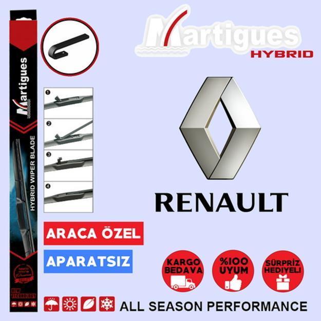 Renault Megane 1 Hybrid Silecek Takımı 1996-2002 resmi