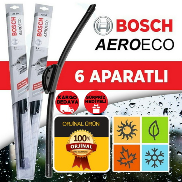 Fiat Grande Punto Muz Silecek 2005-2014 Bosch Aeroeco resmi