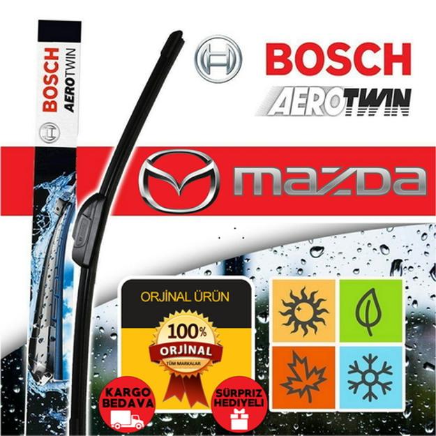 Mazda 3 Hatchback Silecek Takımı 2004-2008 Bosch Aerotwin Plus Set resmi