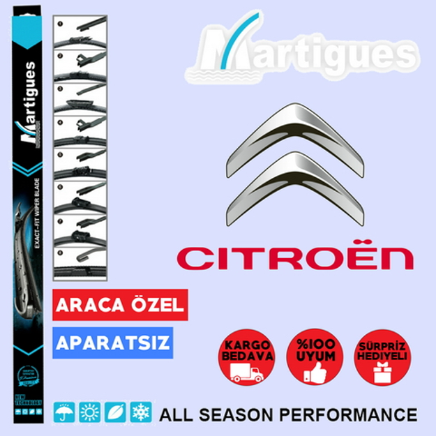 Citroen C-elysee Muz Silecek Takımı 2012-2017 resmi