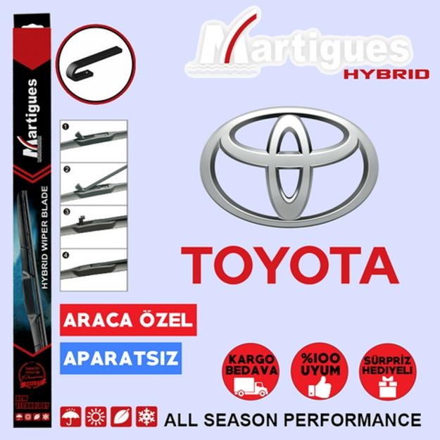 Toyota Yaris Hybrid Silecek Takımı 2006-2010 resmi