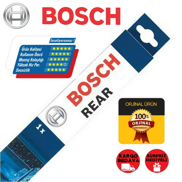 Fiat 500l Arka Silecek 2013-2018 Bosch Rear H840 resmi
