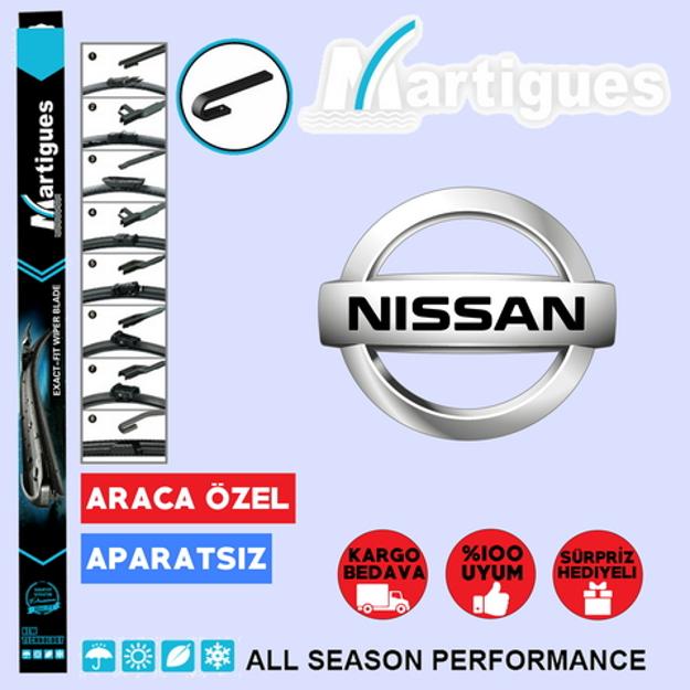 Nissan Navara Muz Silecek Takımı 2005-2013 resmi