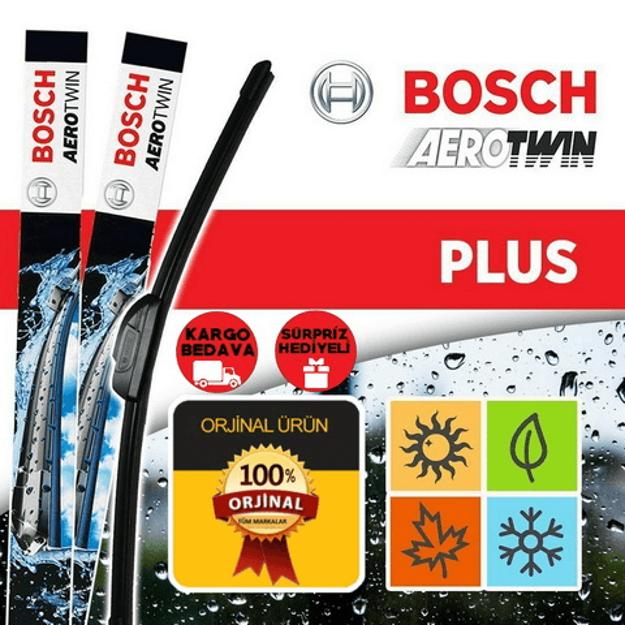 Fiat Panda Silecek Takımı 2012-2014 Bosch Aerotwin Plus Set resmi