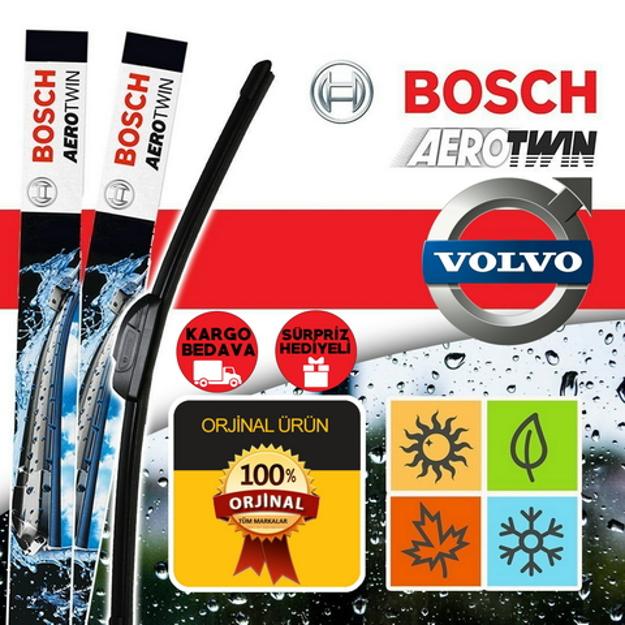 Volvo V40 Silecek Seti 2013-2017 Bosch Aerotwin Set Am467s resmi