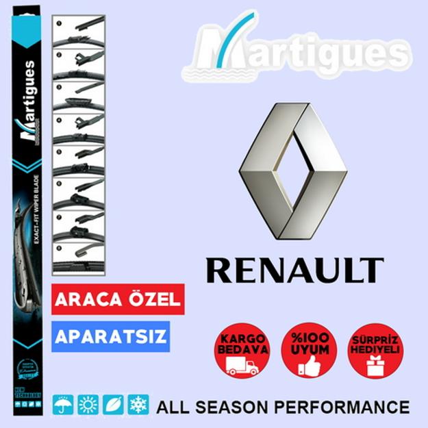 Renault Megane 4 Muz Silecek Takımı 2016-2018 resmi