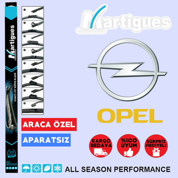 Opel Astra H Muz Silecek Takımı 2004-2013 resmi