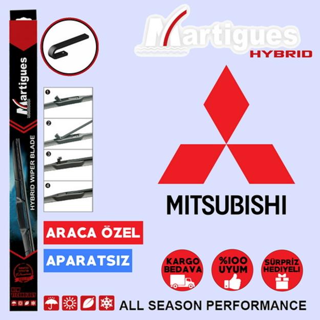 Mitsubishi Colt Hybrid Silecek Takımı 2009-2013 resmi