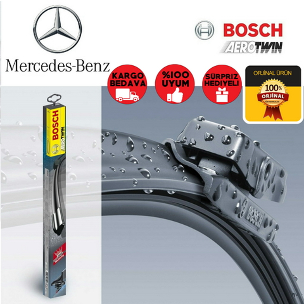 Mercedes Viano Silecek Takımı 2011-2014 Bosch Aerotwin Plus Set resmi