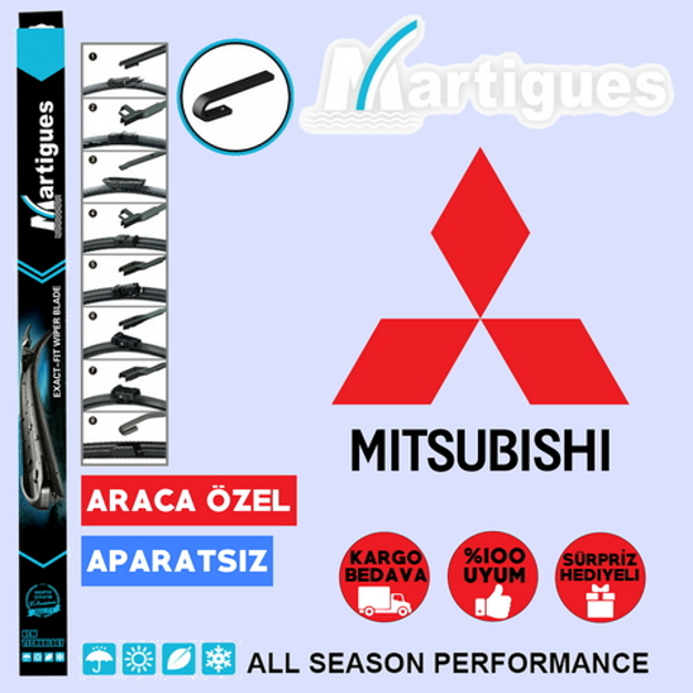 Mitsubishi Space Star Muz Silecek Takımı 2013-2015 resmi