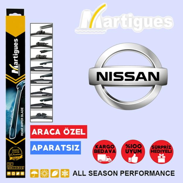 Nissan Qashqai Arka Silecek 30cm 2014-2017 resmi