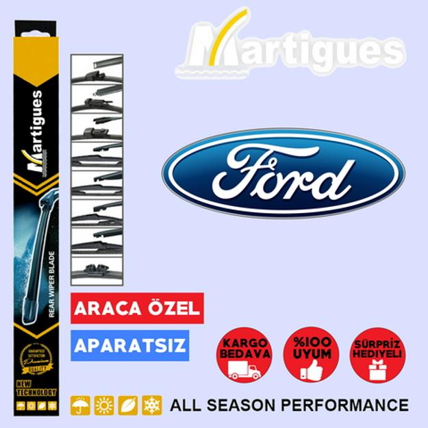 Ford Tourneo Courier Arka Silecek 35cm 2014-2017 resmi