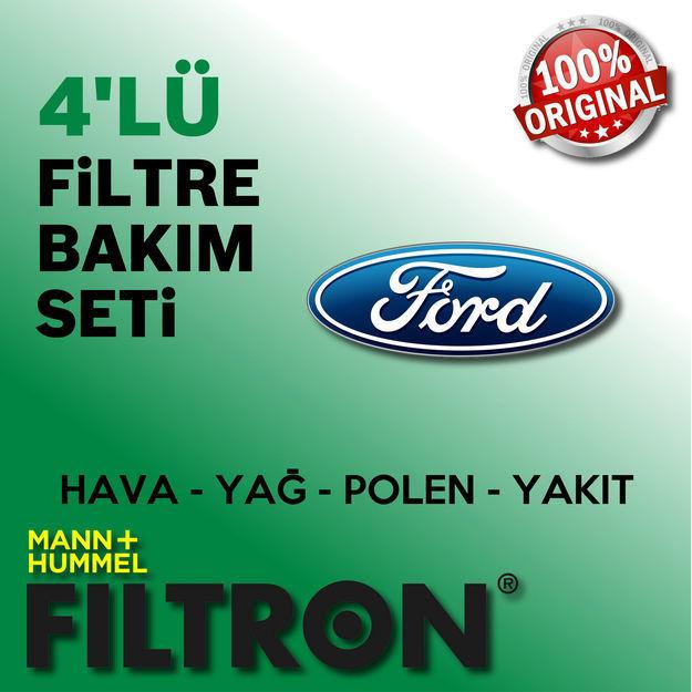 Ford Fiesta 1.5 TDci Filtron Filtre Bakım Seti 2013-2016 resmi