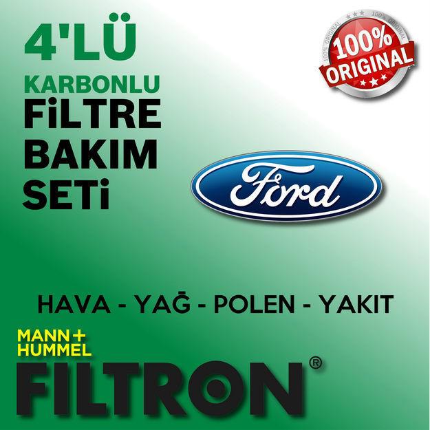Ford Focus 1.6 TDci Filtron Filtre Bakım Seti 2007-2010 resmi