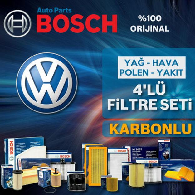 Vw Jetta 1.9 Tdi Bosch Filtre Bakım Seti 2006-2010 resmi