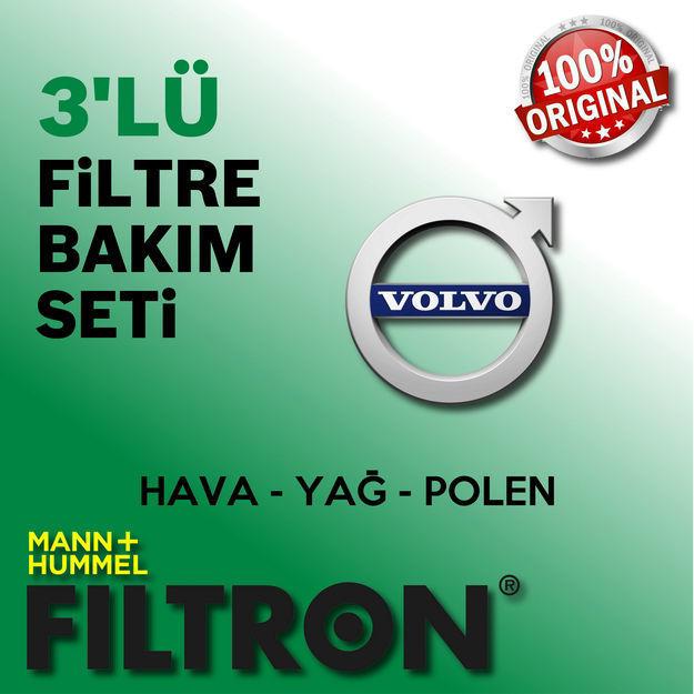 Volvo S40 1.6 Filtron Filtre Bakım Seti 2000-2005 resmi