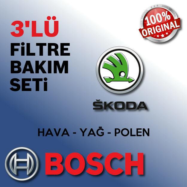 Skoda Superb 1.6 Tdi Bosch Filtre Bakım Seti 2011-2013 resmi