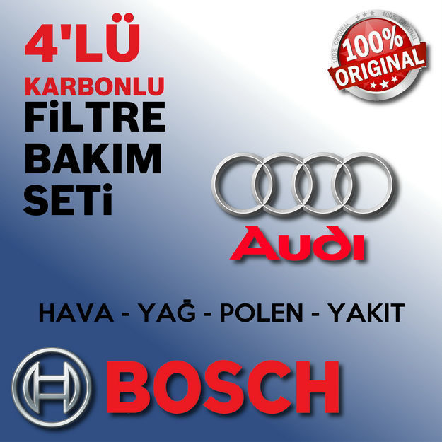Audi A3 1.6 Fsi Bosch Filtre Bakım Seti 2004-2007 resmi