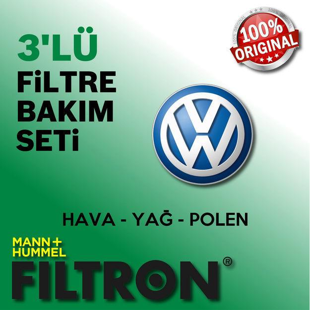 Vw Scirocco 1.4 Tsi Filtron Filtre Bakım Seti 2009-2014 Cav resmi