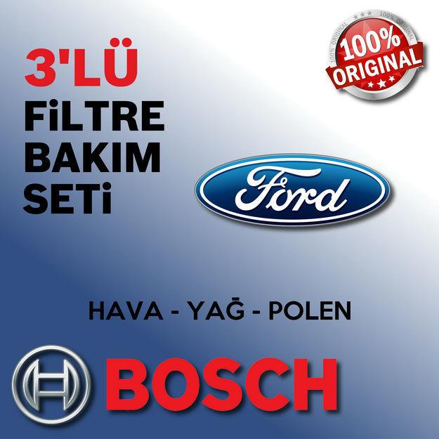 Ford Fusion 1.6 Tdci Bosch Filtre Bakım Seti 2005-2013 resmi