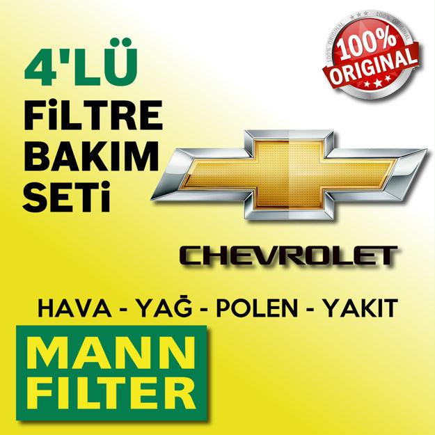 Chevrolet Captiva 2.0 Crdi Mann-filter Filtre Bakım Seti 2006-2011 resmi
