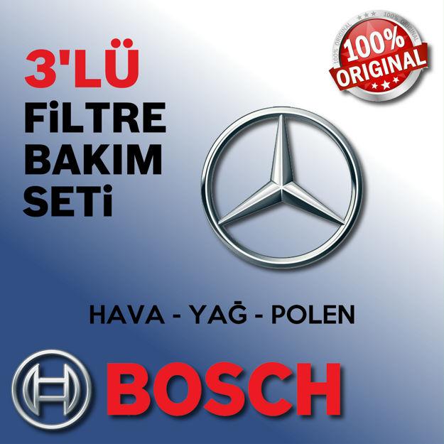 Mercedes A150 Bosch Filtre Bakım Seti W169 2005-2008 resmi