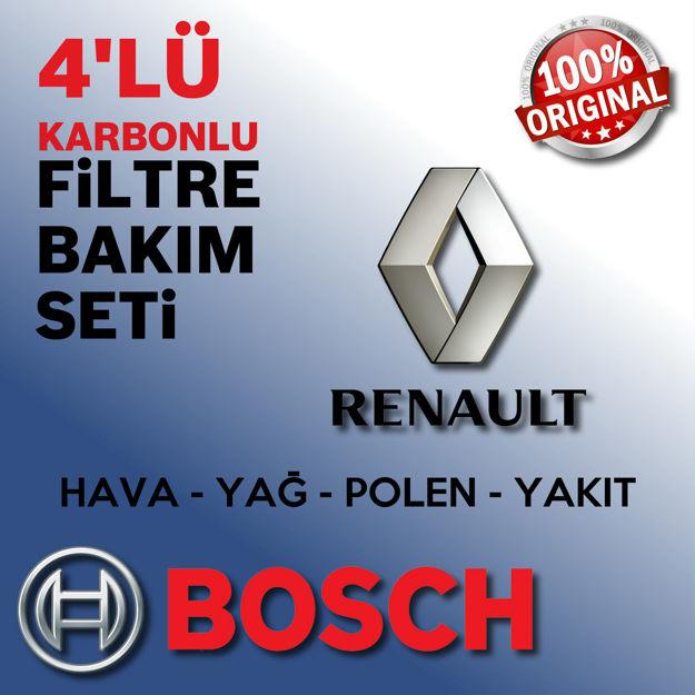 Renault Laguna 3 1.6 Bosch Filtre Bakım Seti 2008-2011 resmi
