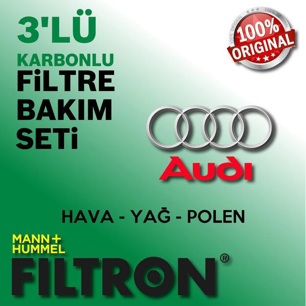 Audi A4 2.0 Tdi Filtron Filtre Bakım Seti B8 2009-2012 resmi