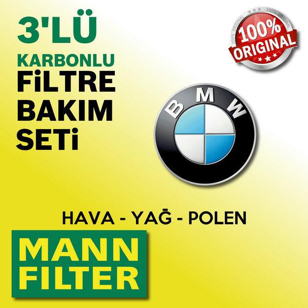 Bmw 1.16i F20/f21 Mann Filtre Bakım Seti 2012-2015 resmi