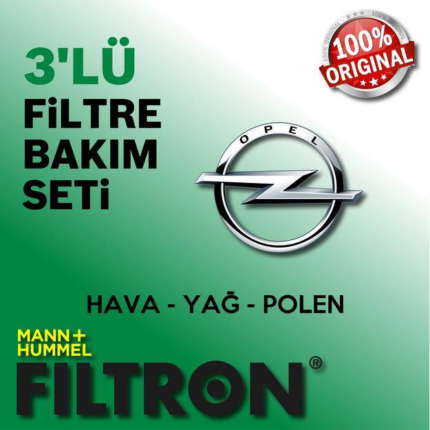 Opel Zafira B 1.6 Filtron Filtre Bakım Seti 2006-2010 resmi