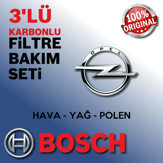 Opel Astra H 1.3 Cdti Bosch Filtre Bakım Seti 2005-2013 resmi