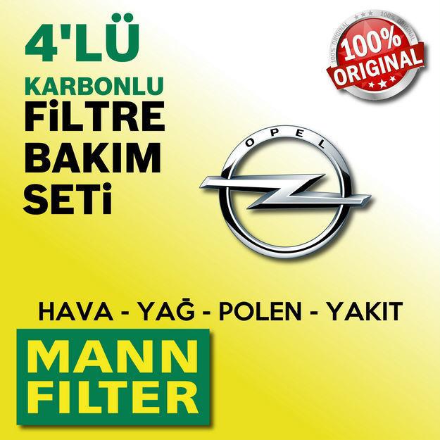 Opel Mokka 1.6 Cdti Mann-filter Filtre Bakım Seti 2015-2017 resmi