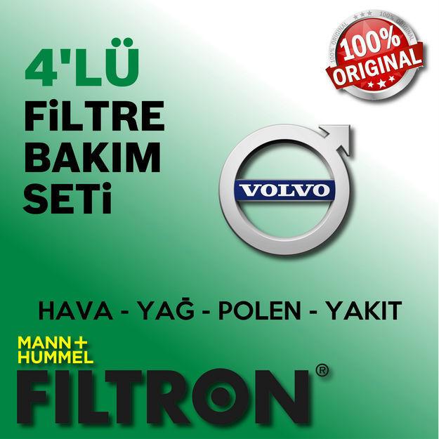 Volvo S40 1.6 Filtron Filtre Bakım Seti 2006-2011 resmi