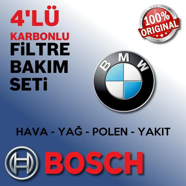 Bmw 5 Serisi 5.20d Bosch Filtre Bakım Seti F10 2010-2013 resmi